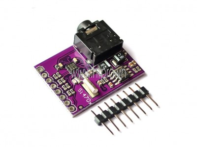 MCU-470 Si4703 FM Tuner Evaluation Board