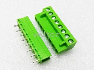Domino 10P-HT5.08 Chân Thẳng