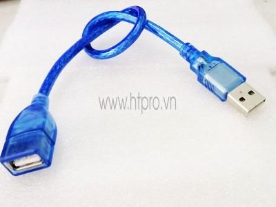 Cab USB type A Đực Cái Dài 30CM