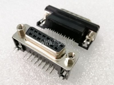 Connector DB15 Female Nằm Ngang Hàn PCB