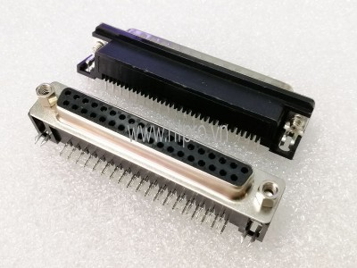 Connector DB37 Female Nằm Ngang Hàn PCB