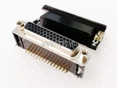 Connector DB44 Female Nằm Ngang Hàn PCB