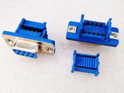 Connector DB9 Female Ghim Dây