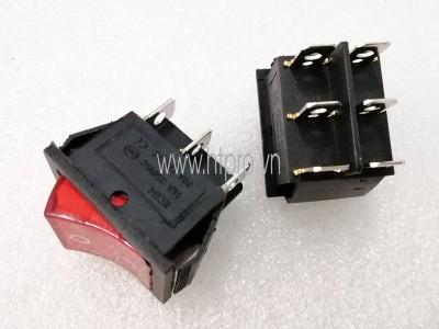 Công Tắc KCD4 6Pin 25x31MM 16A250V