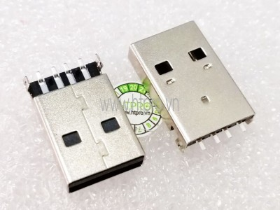 Cổng USB Type A Đực SMD