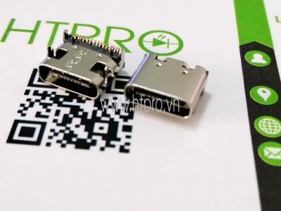 Cổng USB3.1 TypeC 16Pin DIP-4 Đầu Cái