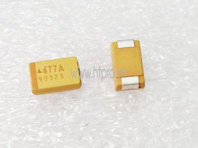 Tụ Tantalum 470uF10V 477A