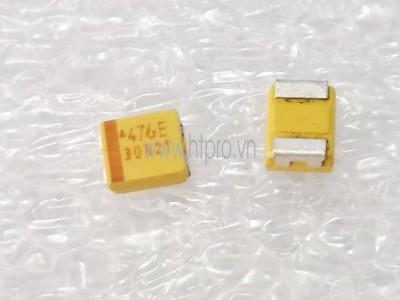 Tụ Tantalum 47uF25V 476E SMD3528