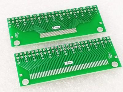 PCB Chuyển Đổi 50P 0.5mm/1mm FFC/FPC Sang DIP FFC 2.54MM