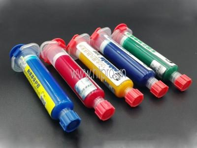 Mực UV Phủ Mạch PCB Mechanic Màu Đen 10mL