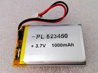Pin Lithium 3.7V 1000mAh 523450