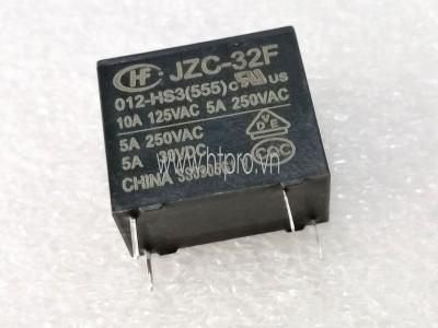 Relay HF32F-JZC-32F-012 HS3 5A