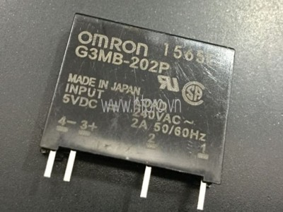 G3MB-202P 5V OMRON SSD Relay