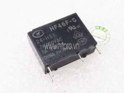 Relay HF46F-G 24-HS1 7A