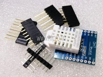 DHT22 Pro Shield ESP8266 WiFi D1 Mini