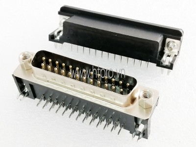 Connector DB25 Male Nằm Ngang Hàn PCB