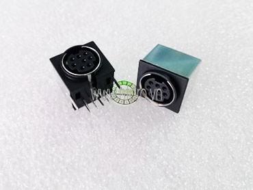 S-8 Đầu DIN Cái 8Pin Hàn PCB
