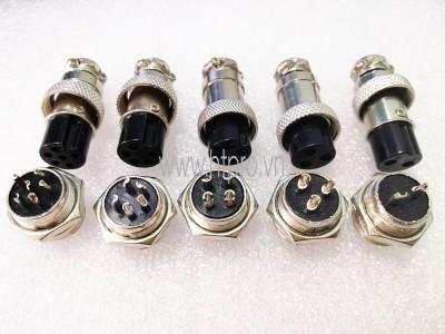 GX16-2Pin Đầu GX16 2 Chân Đực Cái