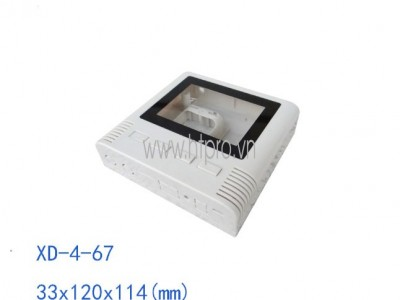 Hộp Nhựa PLC 33x120x114MM