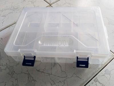 Hộp Nhựa 8 Ngăn 2 Tầng