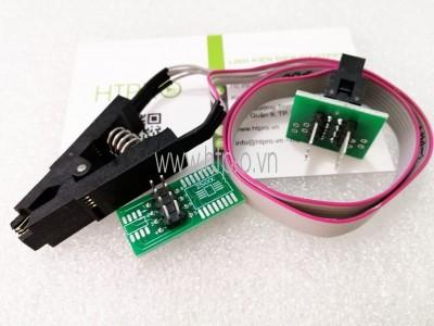 Đế Kẹp Nạp Ic Dán SOP8 Full PCB