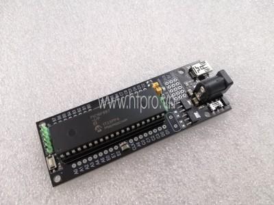 Bo mạch ra chân cho PIC16/PIC18 DIP-40 giao tiếp USB