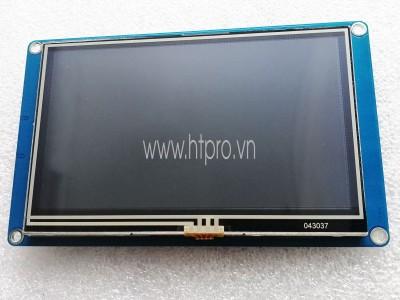LCD 4.3 inch HMI Giao Tiếp UART Cảm Ứng Điện Trở