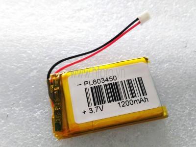 Pin Lithium 1200mAh 3.7V