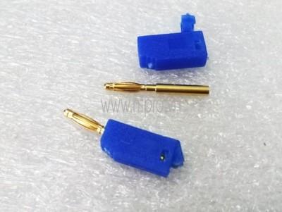 Giắc Cắm Đực Blue -Banana Plug 2mm