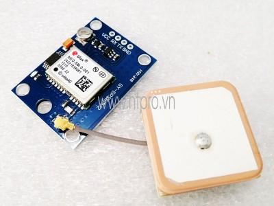 Cách đẩy tọa độ lấy từ module GPS lên Gmap