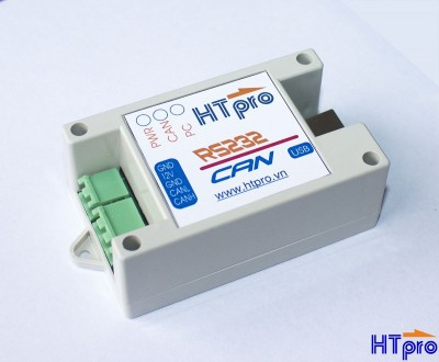 CAN-RS232 Isolate USB converter HT-CAN tracking v3.02