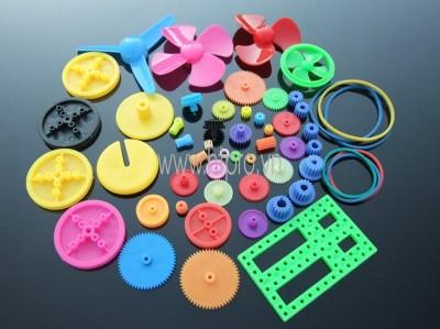 Bộ Bánh Răng Nhựa Colorful DIY 55