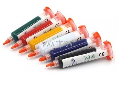 Mực UV Phủ Mạch PCB Màu Đỏ 10cc