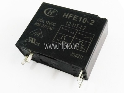Relay nhớ HFE10-2-12-HT-L2 Latching